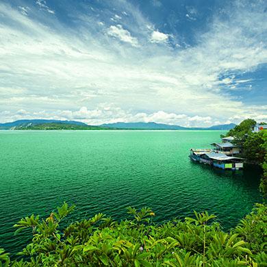 シランギット - トバ湖
